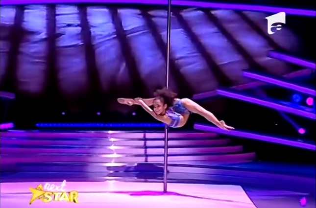 pole dance 8 years old