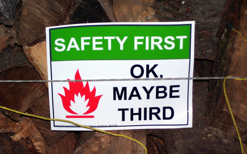 Safety-First-OK,-Maybe-Third