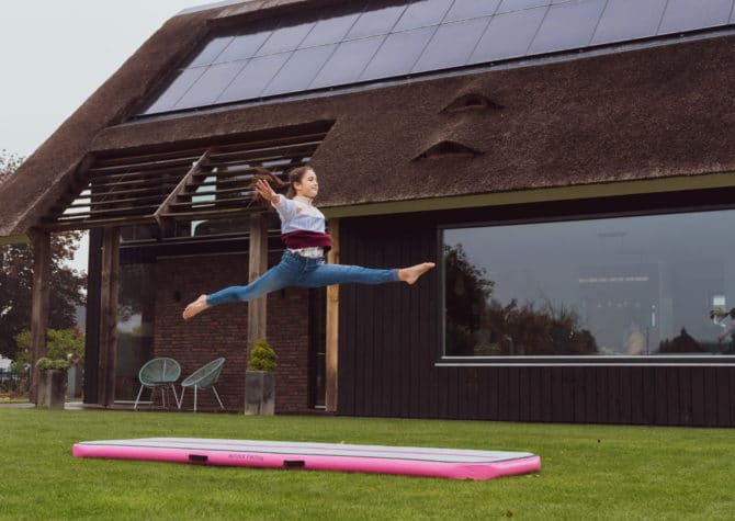 airtrack flip home