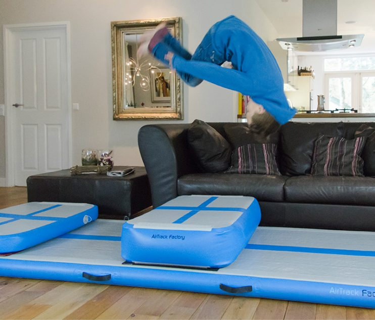 Airtrack mats for home