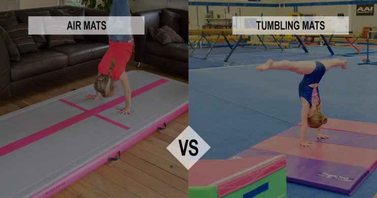 airtrack vs tumbling